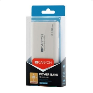Canyon CNS-CPBP10W 10000mAh Powerbanka bílá