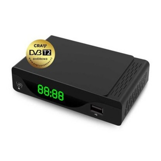 Emos EM190-S DVB-T2 Set-top Box